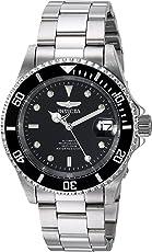 Invicta 8926OB Pro Diver Unisex Uhr Edelstahl Quarz schwarzen Zifferblat