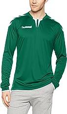 Hummel T-Shirt Atmungsaktiv – Core LS Poly Jersey – Trainingsshirt Lange Ärmel Herren – Longsleeve für Sport & Freizeit – Sportshirt Div. Farben - Tshirt Rundhals