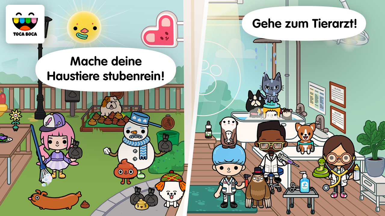 Toca Life: Pets: Amazon.de: Apps für Android