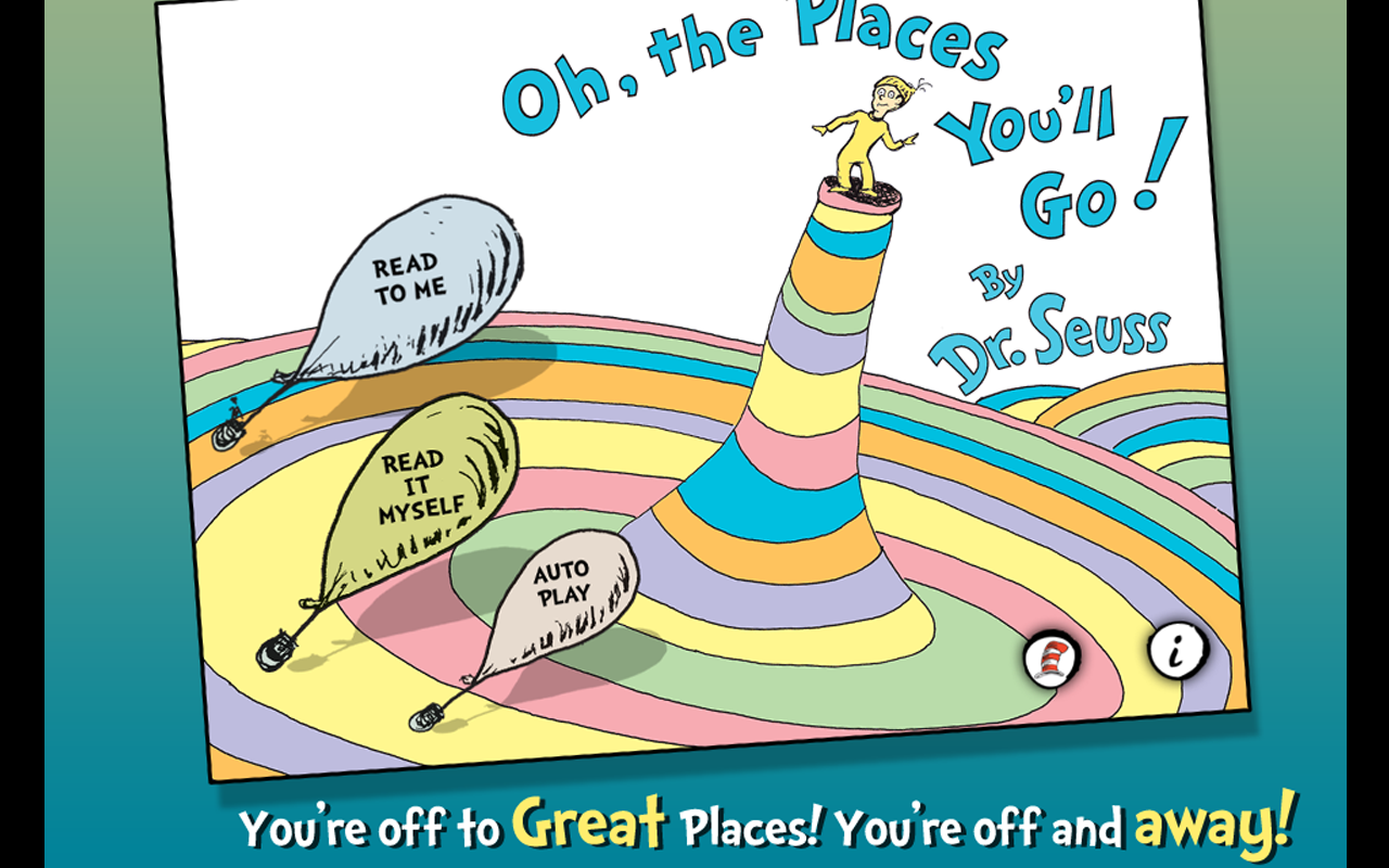 Oh, the Places You'll Go! - Dr. Seuss: Amazon.co.uk: Appstore for Android