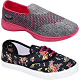 Shoefly Women Multicolour Latest Collection Sports Running Shoes-Pack of 2 (Combo-(2)-611-1152)