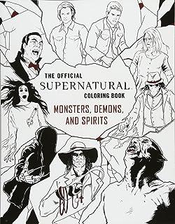 Supernatural The Official Coloring Book Amazon De Insight