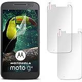 2X Lenovo Moto G4 | Schutzfolie Matt Display Schutz [Anti-Reflex] Screen Protector Fingerprint Handy-Folie Matte Displayschutz-Folie für Motorola Moto G4/G4 Plus Displayfolie