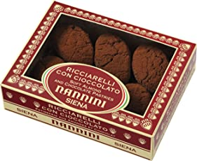 Pasticcerie Nannini Ricciarelli mit Schokolade, 1er Pack (1 x 250 g)