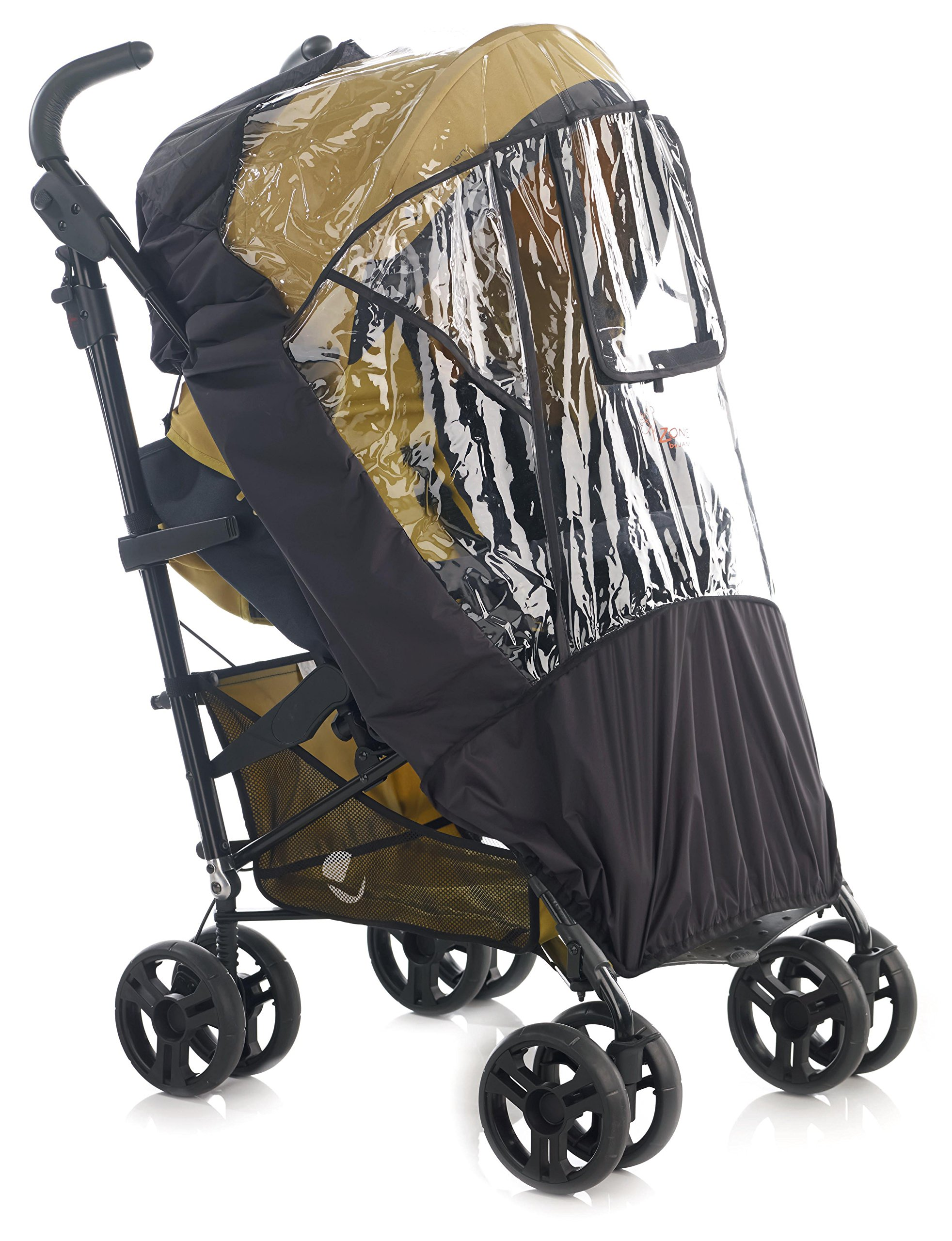 Jane Raincover for Pushchair (Unv/Nylon) Jane, Inc. Universal fitting - should fit most Pushchairs with a hood on the market Jane models we have confirmed it fits on are: Muum, Epic, Twone Single, Rider, Trider and Trider Extreme This raincover is a quality accessory that is reinforced to prolong its life 4