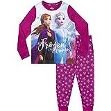 Disney Pijamas de Manga Larga para niñas Frozen El Reino del Hielo