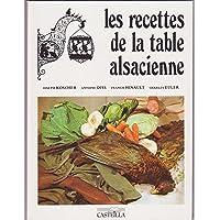 Recettes de la table alsacienne