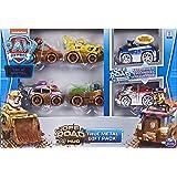PAW Patrol True Metal Off-Road - Confezione regalo da 6 veicoli infangati, da collezione, in metallo pressofuso, scala 1:55