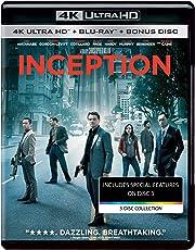 Inception (4K UHD & HD) (3-Disc Box Set)