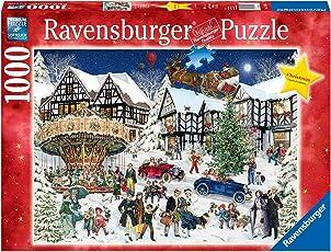 """Ravensburger Erwachsenenpuzzle 15359"""" Verschneites Weihnachtsdorf Puzzle"""