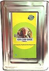 Shree Radhey Gir Cow ghee A2 Gir Cow Ghee, 5L (Gir Cow pqGhee - 5 LTIN)