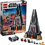 LEGO 75251 StarWars LechâteaudeDarkVador, Ensemble de Construction avec modèle TIE Advanced Fighter et 2 Figurines Dark