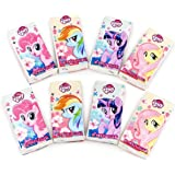 My Little Pony Paquete de viaje de papel de bolsillo, 24 juegos de 8 unidades