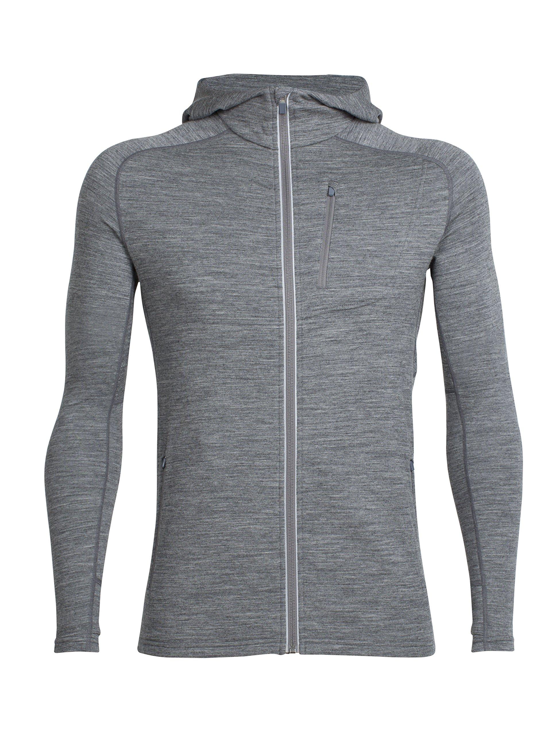 91uWUrjy44L - Icebreaker Men's Quantum Long Sleeve Zip Hood Cover Ups
