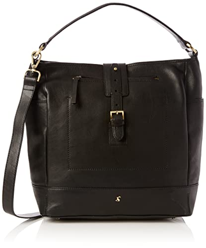 Joules Womens Belsize Shoulder Bag Black: Amazon.co.uk: Shoes & Bags