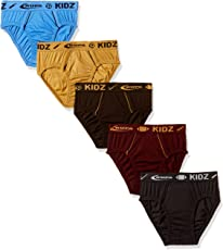 Rupa Frontline Kids Boys Cotton Brief (Pack of 2) (Colors may vary)