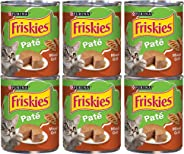 Purina Friskies Pate Mixed Grill Adult Wet Cat Food - 13 oz. Can (6 Cans)