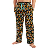 Scooby Doo Pyjamas for Men, 100% Cotton Mens Pyjamas Bottoms with Print of Scooby, Lounge Pants Mens with Elasticated Waist,