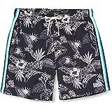 Scotch & Soda Bedruckte Badeshorts mit seitlichen Tapes heren shorts