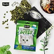 KitCat Breath Bites Seafoods Flavor, Green, 60g