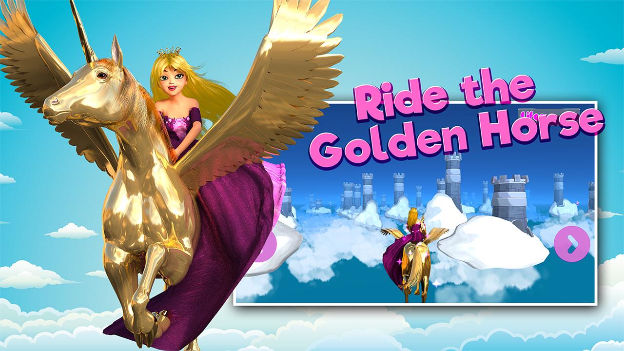 Zoom IMG-3 princess unicorn sky world run