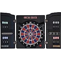 Dartona Elektronische Dartscheibe CB40 Cabinett -   Dartscheibe elektronisch   Turnierscheibe mit 27 Spielen und über…