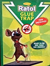 Ratol Glue Trap (New Improved Version)Insect Rodent Lizard Trap Rat Catcher Adhesive Sticky Glue Pad