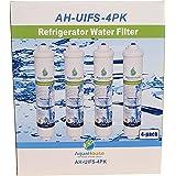 4x AquaHouse UIFS Compatibile Filtro Frigorifero acqua per Samsung DA29-10105J HAFEX/EXP WSF-100 Aqua-Pure Plus (filtro ester
