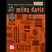 Essential Jazz Lines: Miles Davis - Trumpet Edition (English Edition)