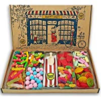 Heavenly Sweets Pick and Mix Sweets Gift Box Hamper - Retro Sweet Shop in a Box, over 1.2kg - Traditional Bulk Sweets…