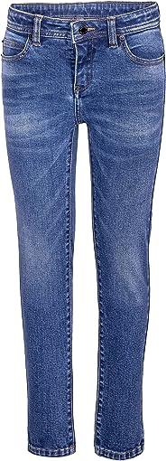 GULLIVER Jeans Mädchen Blau Jeanshosen Unifarben Casual Stretch elastisch für 7 10 Jahre 122 128 cm 134 140 cm