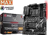 MSI B450 TOMAHAWK MAX AM4 AMD B450 SATA 6Gb/s ATX AMD Motherboard