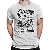 PAPAYANA - Viva Las Vegas - T-Shirt Fun pour Hommes - T-Shirt Imprimé - Cotton - Regular Fit Small to 5XL