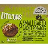 Bannisters' Farm Littl'uns Small Baked Jacket Potatoes, 700g (Frozen)