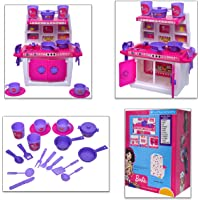 toydor barbie doll kitchen set for girls kids toys for kids non toxic bpa free material used( medium size) height 30 cm…
