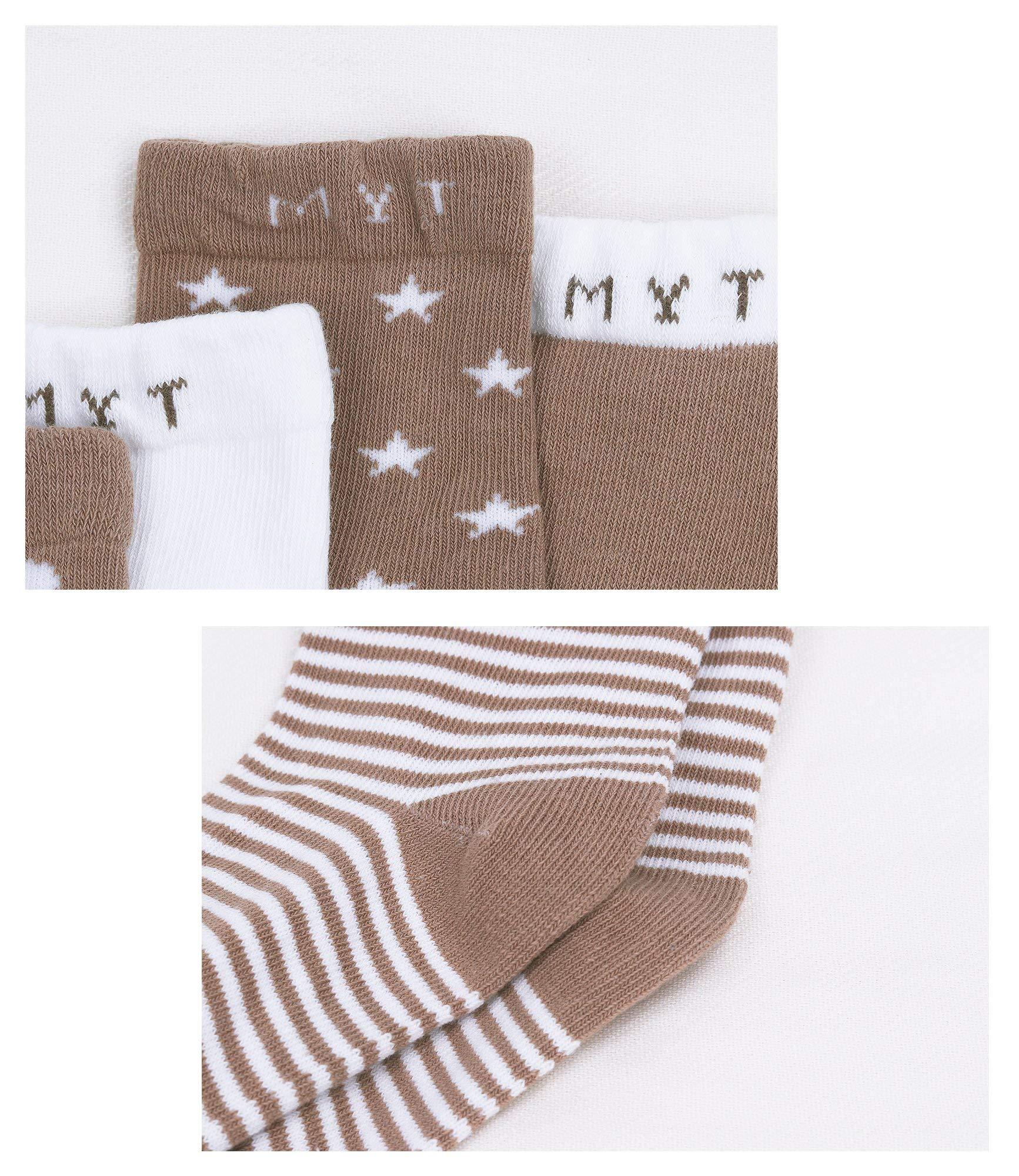 DEBAIJIA Calcetines de Algodón para Bebé 0-7 Años Suaves Cómodos Niños Niñas Calcetines Respirable Primavera Verano… 2