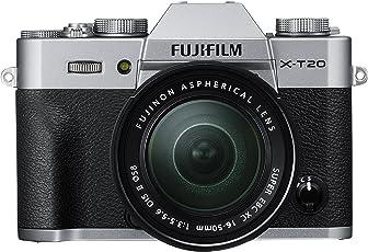 Fujifilm X-T20 Mirrorless Digital Camera - Sliver (XC 16-50mm, XC 50-230 OIS II, SLIVER)