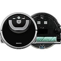 MEDION Wischroboter mit intelligenter Navigation (80 Min Laufzeit, vollautomatische Nassreinigung, 0,8 l Wasserbehälter…