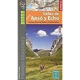 Valles de Ansó y Echo 1: 25.000 (SERIE E 25 - 1/25.000)