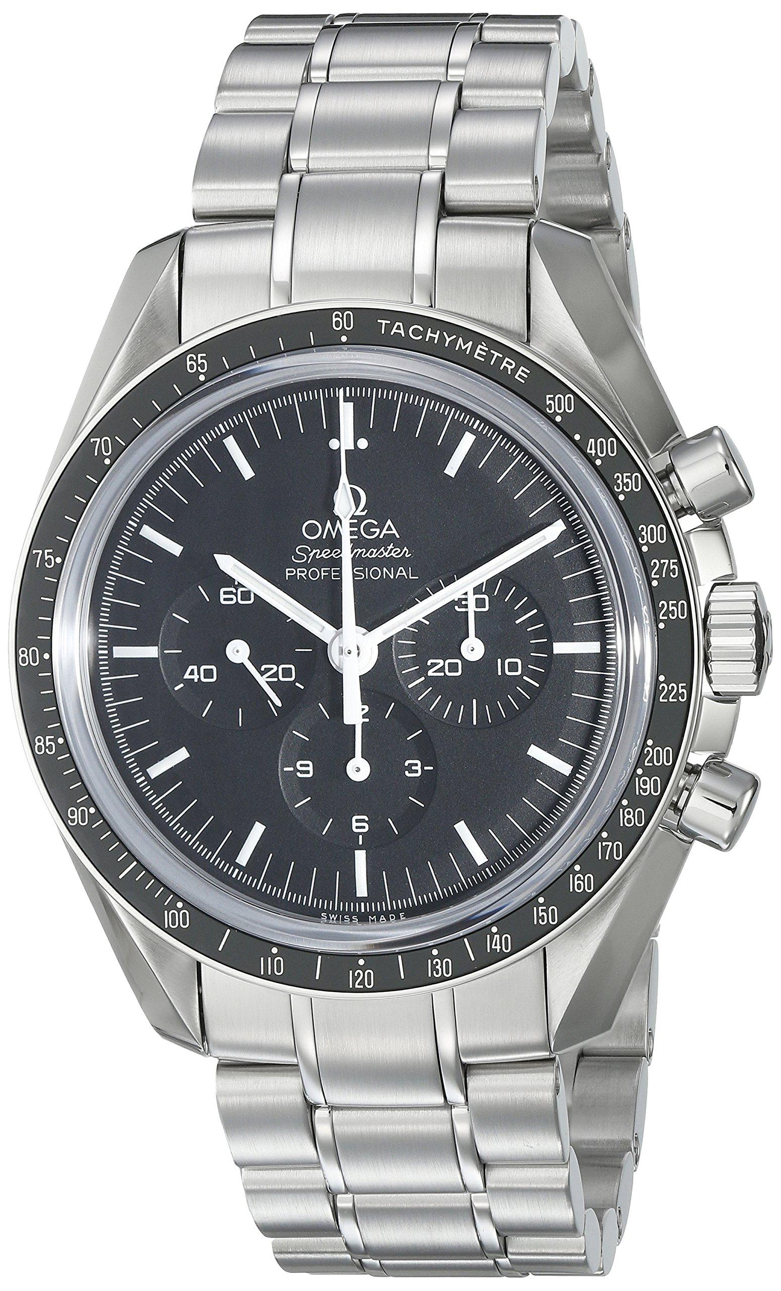 "Omega Speedmaster Professional ""Moonwatch"" - Reloj (Reloj de Pulsera, Acero Inoxidable, Acero Inoxidable, Acero Inoxidable, Acero Inoxidable, Hesalita) 1"