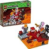 LEGO Minecraft 21139 - Nether-Abenteuer Fight, Konstruktionsspielzeug