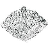 Nachtmann Bossa Nova Crystal Glass Bonboniere, 12 cm - Clear