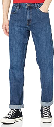All Terrain Gear by Wrangler Men's Authentic Straight Jeans