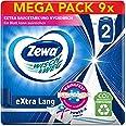 Zewa Wisser & Weg extra lang origineel, Mega Pack, 9 verpakkingen