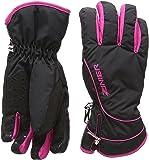 Zanier Damen Handschuhe Seefeld.ZX, Schwarz/Fuchsia, XL