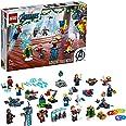 LEGO 76196 Marvel De Avengers adventkalender 2021 Bouwspeelgoed met Spider-Man en Iron Man voor kinderen van 7+, Cadeau-idee