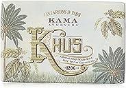Kama Ayurveda Organic Khus Soap 100% Organic and Cold Pressed, 125g