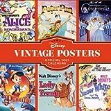 Official Disney Vintage Posters 2021 Calendar - Square Wall Format Calendar