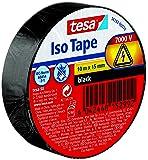 Tesa 56192-00010-02 Nastro Isolante, Nero, 10M X 15 mm