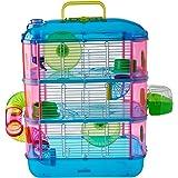 Arquivet Jaula roedores pequeños Gran Canaria - Casa para Hamsters, Ratoncillos, Animales pequeños - Plástico Resistente - Tr